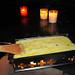 Schon bald bruzzelt ein schmackhaftes Raclette im gewonnenen Pfännchen.
