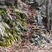 Steintreppen und Mäuerchen im Val Cugnasco
