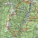 Ungefähre Route Val Cugnasco