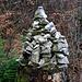 Steinmännchen in der Nähe vom höchsten Punkt auf dem Blauen / Blaueberg (837m).