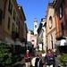Menaggio: Via Calvi tra le chiese di S.Stefano e S.Marta<br />