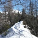 In prossimità del punto quotato 1913 metri sopra Motti.