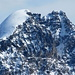 Gipfelpanorama Il Chapütschin - Piz Roseg mit Schneekuppe