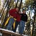 Gipfelfoto mit Andi, Anita und Martin