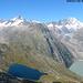 Glaciers et lacs de la région du Grimsel