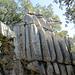 die berühmte Steinformation 'Es Camell' kann nur noch erahnt werden, denn leider ist sie zugewachsten