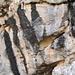 malerische Felswand