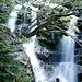Wasserfall am Aufstieg zum Nebelhorn (2224m)<br />Im Faltenbachtobel