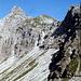 Blick zurück zum Nebelhorn (2224m)