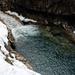 Wäre im Sommer hier nicht ein Wildbach, könnte man in dem lauschigen Pool baden (-: