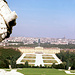 Blick von den Glorietten auf Schönbrunn, Wien u. Stefansdom
