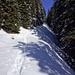 Die letzten Meter auf gutem Schnee