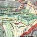 Il ns. percorso punteggiato in verde.