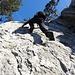 Herrliche Kletterei an der Sonne (Foto von Xaendi)