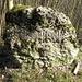 Chessiloch, diese netten Steine bezeichnen diverse Orte am Born