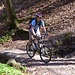 Yannick im Aufstieg durch den Beinwilerwald