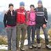 Uli, Tom, Steffi und ich