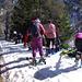 Schnee erreicht - grosse Hitze - sommerliches Tenü