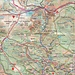 Die Wanderrouten um und auf die Snĕžka / Śnieżka (1602,3m). Zahlreiche Hütten liegen unterwegs zum Gipfel was einen Aufstieg auf den höchsten Tschechen im Sommer zu einer gemütlichen Wanderung macht.