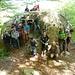Foto di gruppo davanti al Sass Boll