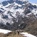 In salita sulla cresta del Monte Tovo.