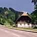 Schwarzwaldhaus in der Höllentalschlucht