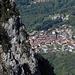 Immer wieder schöne Tiefblicke ins Val Colla, hier nach Sonvico