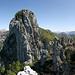 Sasso Grande von Westen gesehen... (für das Studium diverser Kletterrouten)