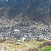Blick runter auf Zermatt