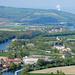 Die Aare windet sich gestärkt durch Reuss und Limmat dem Rhein entgegen