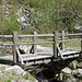 """Die Brücke nach dem """"gefährlichen"""" Geissenpfad"""