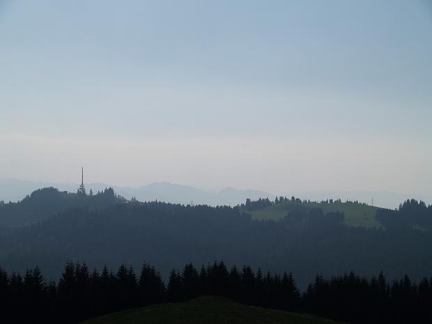 Blick vom Hirschberg zum Pfänder
