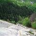 Auf den Gneissplatten weit über Freggio
