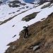 Per raggiungere la Val da la Bles occorre attraversare qualche pendio erboso!