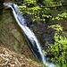 Im Mutzbachtäli mit dem 14 Meter hohen Wasserfall