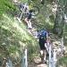 die kurze unfahrbare Passage vom Naturfreundehaus Passwang Richtung Hinter Wasserfallen