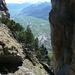 oberhalb der Höhle