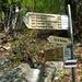 Segnavia di Monte Gaggio 900 m