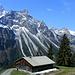 Die Alpe Üntschenberg-Vorsäß (ca. 1250m)  -  wotta panorama