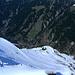 Winter in der steilen Nordflanke