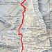"""Dall'Alpe Predone alla Caurga, 1.8 Km. circa, ma belli ripidi. Sulla carta Svizzera 1:25000 """"Passo San Iorio"""" è riportato il sentiero che però, in mezzo alla vegetazione, è molto difficile da trovare."""