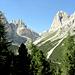 Unterwegs ins Val Gardeccia