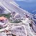 Vajoletthütte u. Preusshütte vom Gartlabstieg