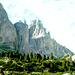 Blick zu den Vajolettürmem über Valle de Gerdeccia