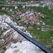 Klettersteig und Tiefblick