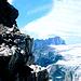 Im Abstieg vom Piz Boè<br />Im Hintergrund der Langkofel, rechts die Sellahochfläche mit Piz Selva,über die man muss nach dem Ausstieg aus dem [http://www.hikr.org/tour/post28076.html Pössnecker Klettersteig] wandern muss.