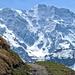 Grosshorn - ein beeindruckender Berg.