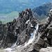 Blick vom Furggle zum Chilchli, darunter Schwanden