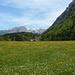 Ein Foto schenkte mir dann die Batterie wieder - hier aufgenommen wenige Meter vor P. 1050 bei Hinter Saggberg