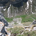 700 m - Tiefblick hinter die Fälenalp